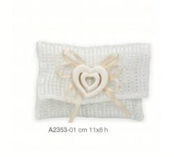 Rosa con stella in cristallo 6x10 cm