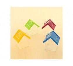 Casetta scatoletta house plexiglass 6x7 - 4 COLORI ASSORTITI SC350 Scatole Contenitori e Sacchettini 4,26€