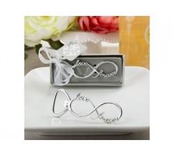 Apribottiglia infinito love color argento 4237 Apribottiglie 4,37€