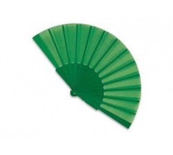 Ventaglio plastica e tela colore VERDE t-158-VE Ventagli 1,12€