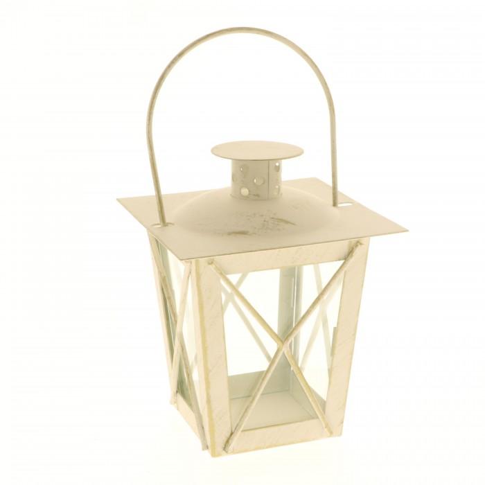 Lanterna classica in colorazione screziata cm 10x13h
