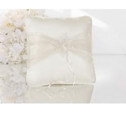 Cuscino porta fedi avorio con farfalla in tessuto PKW7 Cuscini fedi 25,62€