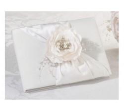 Guest book chick con rosa strass e perle LRGB770 Guest book 31,11€