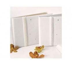Guest book bianco con perle e strass 1751 Guest book 31,23€