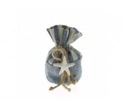 Sacchettino tema mare stella marina in gesso C1918 Sacchettini 3,57€