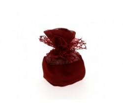 Sacchettino palla rete con rosa cm 10 BORGOGNA C1989 Sacchettini 2,09€