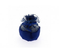 Sacchettino palla rete con rosa cm 10 BLU C1986 Sacchettini 2,09€