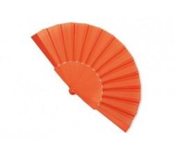 Ventaglio plastica e tela colore ARANCIONE t-158-AR Ventagli 1,12€
