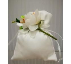 Sacchetto in alcantara con fiore ROK226V Home 3,00€