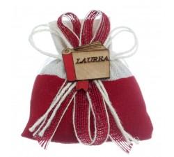 Sacchetto portaconfetti Laurea Bicolore acz316 Home 3,80€