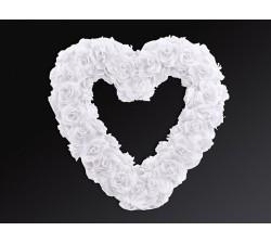 Cuore di fiori vuoto, bianco, 50 cm PD.PSU-008 Home 30,00€