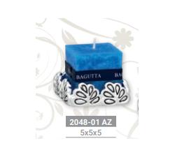 PORTACANDELA SILVER BA.2048-01AZ PORTACANDELE 15,00€