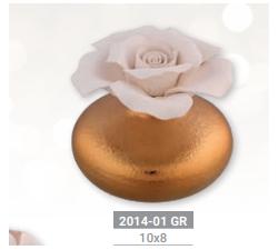 DIFFUSORE CON ROSA BA.2014-01GR Bomboniere 13,50€