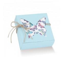 Scatola farfalla portaconfetti pieghevole paglierino (10 PZ) DD.831019000300 Home 10,50€