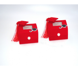 Scatola portaconfetti Laurea SI.L948 BOMBONIERE 1,50€