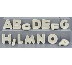Ciotola porcellana a forma di lettera per confetti. G.CB6-1 Bomboniere 1,90€