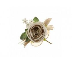 Fiore gioia con racchette portaconfetti TORTORA B0618TO Fiori 3,12€