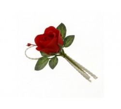 Fiore SOFFIO ramo cm 15 colore ROSSO B0621ROSS Fiori 2,23€