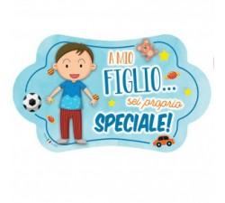 TARGA NUVOLETTA FIGLIO MJAD39 Home 10,00€