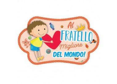 TARGA NUVOLETTA FRATELLO MJAD38 Home 10,00€
