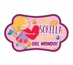 TARGA NUVOLETTA SORELLA MJAD37 Home 10,00€
