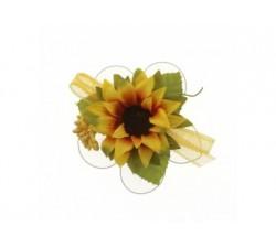 Fiore girasole con racchette portaconfetti B0631 Fiori 2,68€
