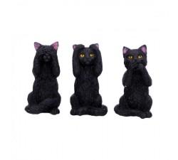 Tre saggi felini 8,5 cm U4802P9 NEW AGE 35,00€