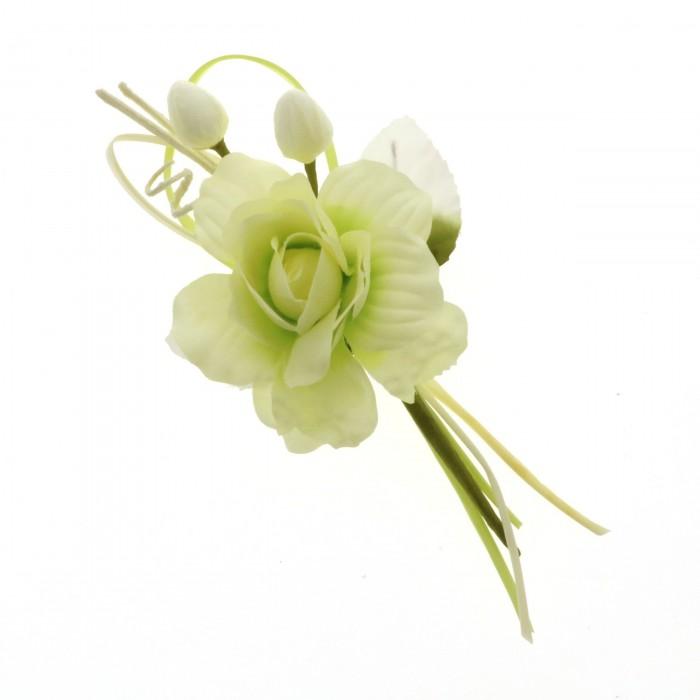 Fiore carezza ramo cm  21 VERDE