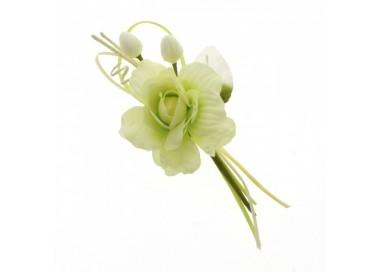 Fiore carezza ramo cm 21 VERDE B0651VE Fiori 2,26€