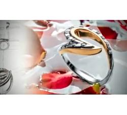 Anello in oro bianco e oro rosa con brillanti naturali MG.02 GIOIELLERIA 1.950,00€