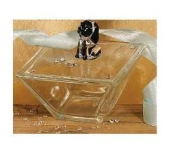 Scatola vetro cagnolino 15042 Cristallo 16,37€