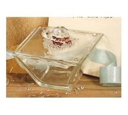 Scatola vetro tartaruga 4.5x8 cm 15052 Cristallo 16,37€