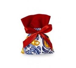 Sacchetto in cotone dritto maiolica rosso (10 pz) 494211010 SACCHETTI 2,00€