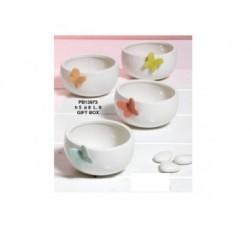 CIOTOLINA 8 CM. 4 ASSORTITE PORCELLANA CON SCATOLA PB13973 Porcellana e Ceramica 10,37€