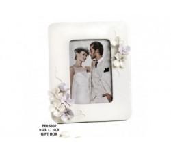 PORTAFOTO/FIORI PAST. 23 CM. PORCELLANA G.BOX PB16302 Porcellana e Ceramica 20,74€