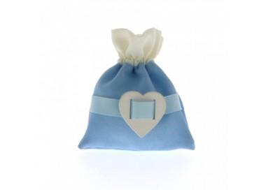 Sacchettino love con cuore AZZURRO C1803 SACCHETTINI 2,09€